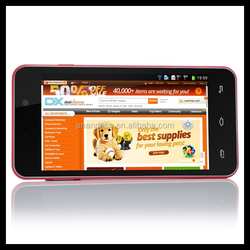 Professional 3g gps smartphone made in taiwan phone android 4.4top 10 mobile phones mtk6589 doogee dg500 smartphone