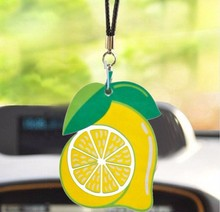 fruit theme Strong Perfume Absorbent paper air freshener