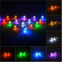 Led Fashion Cool Shiny Glowing Earrings Studs Light Party Club Xmas Gift