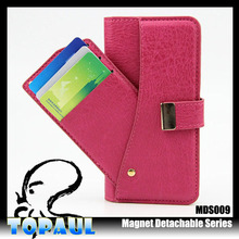 smart cover wallet high quality leather phone case for iphone 6