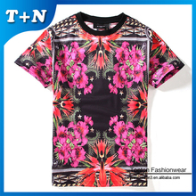 manufacturer thailand plain no brand custom t-shirt printed