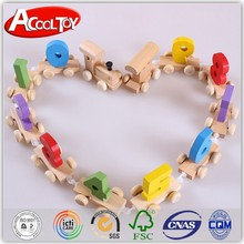alibaba wholesale custom design wooden figure large toy train for baby
