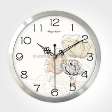 Rustic Chinese Metal Crafts/Aluminum Wall Clock