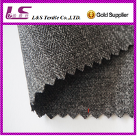 300D 100% woven polyester fabric cation polyester peach skin fabric for suit with pu coated