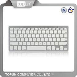 Hot sale ultra slim Bluetooth keyboard for ipad&laptop TP-HT- X5