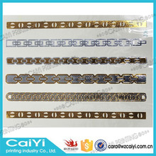 Fashion Gold Silver Stickers Tribal Vintage Long Chain, Bracelet Flash Tattoo Body Art ,Temporary Tattoo Waterproof Disposable