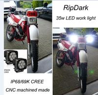 High Power LED Driving Lights Great White Motorcycle LED Driving Lights