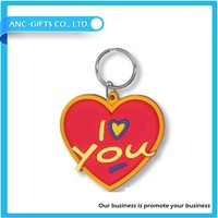 3d soft pvc keyrings /keychain for promotion in factory directly price