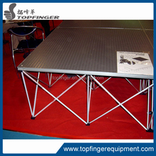 Easy To Assemble Modular Aluminum Easy Stage For Shows, Concerts