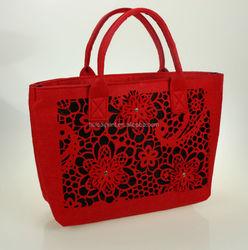 The Practical fashion Felt Laptop Bag for Macbook /iPad,felt tote bag,felt storage bag