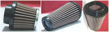 Universal racing cars air filter with ID 60,63,70,76,89,101