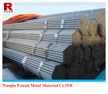 Hot Dip Galvanized welded steel pipe used in oil and gas industries