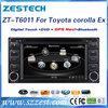 For Toyota wish used dashboard placement car dvd player with gps navigation system, audio accessories. radio multimedia player