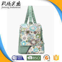 Two-way Carrying Fashion Promotional Cotton Bag for Ladies