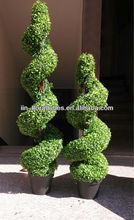 Large Boxwood Spiral Tree Artificial Plant