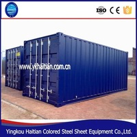 Foldable Living Container House With Sandwich Panels