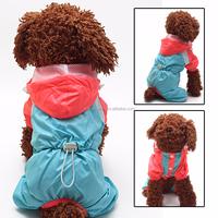 2015 Double Layer Colorful dog raincoat Pet Dog Cat Cheap Raincoats Waterproof