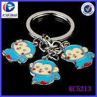 Yiwu 2015 New Products Trinkets Shy Monkeys Aladdin Trade Keychains