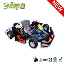 2015 hot 4 wheel 90cc go kart parts with safety bumper pass CE certificate