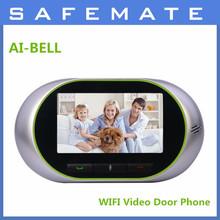 wifi wireless video door phone digital door viewer