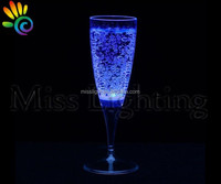 LED glow champagne cups