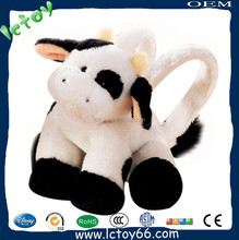 Wholesale Children Plush Cow Animal Cartoon Bag Kids Animal Backpack
