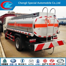 DONGFENG 4*2 used fuel dispensers fuel truck dimensions