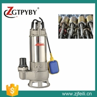 1.5 hp water centrifugal submersible pump water pump three phase induction motor