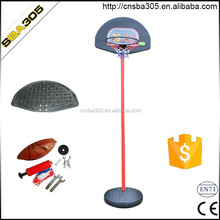 indoor plastic kids basketball stand