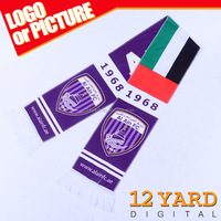 2015-2016 UAE newest national style Muffler Acrylic Knitted Double-sided football fans scarf