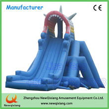 PVC inflatable bouncer, outdoor durable cheap inflatable slide price for sale