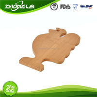 Make To Order BSCI Approved Factory Affordable Price Cutting Board Animal Shape