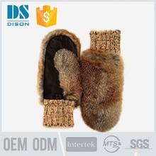 Personnalisé lapin gants de cheveux