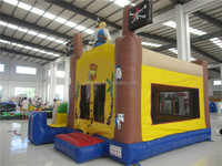 Pirate Ship Inflatable Bouncer Toy with Slide for Sale