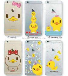 cartoon printing case for iphone6,cute cartoon case soft tpu case for iphone6
