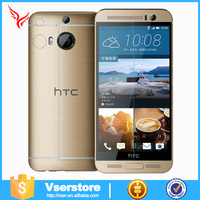 0.33mm shock proof mobile screen protectors transparent Tempered Glass Film for HTC D610