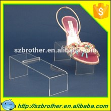 Alibaba express custom made clear acrylic shoe rack/shoe display/for retailers