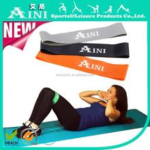 2015 NEW ! 5 pcs Resistance Loops Home Gym Exercise Pilates Yoga Stretch Band Set-Light/Medium/Hard