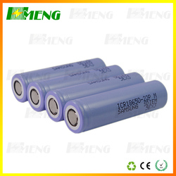 2015 New arrival authentic samsung SDI 22P/PM 22F/ FM 2200MAH 3.7V rechargeable li ion 18650 batteries cell