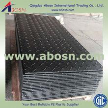 hdpe hard wearing ground mat/heavy equipment access mat