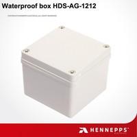 Hennepps IP66 waterproof pvc electric junction box 125*125*100mm