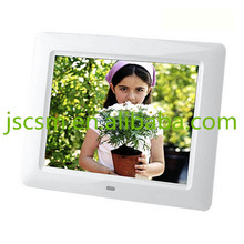 gif 8'' inch cheap price full function hd video player digital display case
