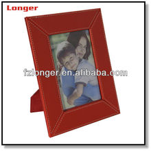 wholesale pu leather wooden most beautiful photo frames picture frame for home decor