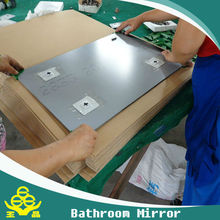 3mm clear aluminum mirror double coat with deep progress