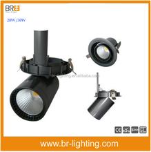 Recessed ceiling luminaires round Ra95 Adjustable