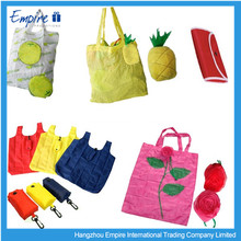 Advertising high quality fashionable folding non-woven packing bag