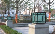 pl 2384 excellent quality sensor solar light led outdoor light pillar light for parks gardens hotels walls villas