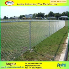 used chain link fence post , pvc coated chain link fence cage