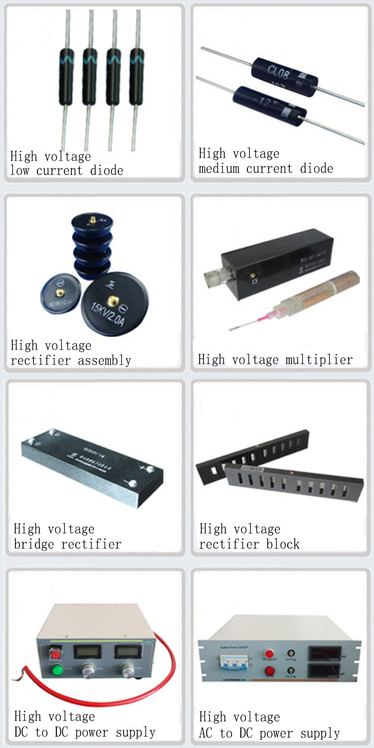 High Frequency High Voltage DC Variable Voltage Power Supply