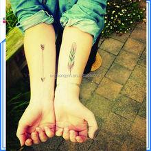 removable cartoon children tattoo glow in the dark body tattoo sticker